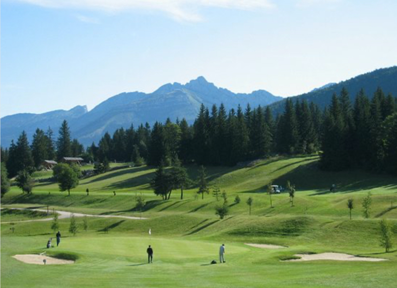 Competition Golf, Corrençon-en-Vercors